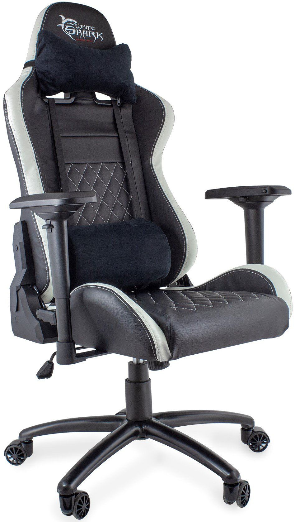White Shark Gaming Chair Nitro Gt Black White
