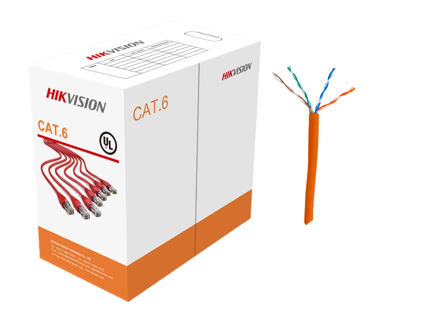 Hikvision U Utp Cat6 Pvc Sheath 305m