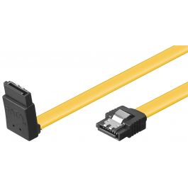 Sata Cable 0 50m 1 Straight 1 Down Left Angled