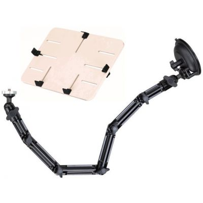 WINDSHIELD MOUNT WITH P TRAY FOR TABLET