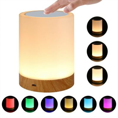 TECHLY USB SMART TOUCH LAMP 5 SELECTABLE COLORS