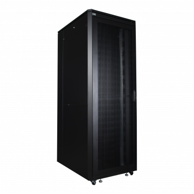 LOGON 42U W=800mm D=1000mm H=2053mm SERVER LINE BLACK