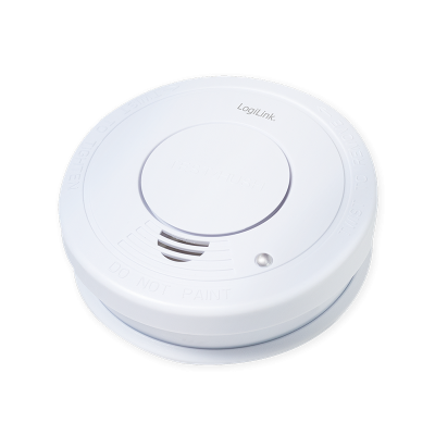 LOGILINK SMOKE DETECTOR 1 YEAR BATTERY TIME