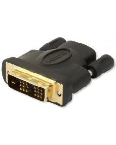 TECHLY HDMI FEMALE TO DVI-D (18+1) MALE ADAPTER