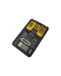 TECHLY MICRO SD USB READER WITH SIM CARD ADAPTER