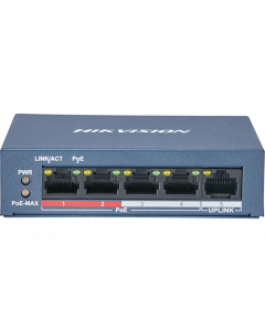HIKVISION 4-PORT 10/100 TP POE ETHERNET SWITCH