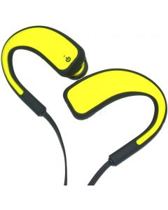 OVBOOST SPORT BLUETOOTH EARPHONES - YELLOW