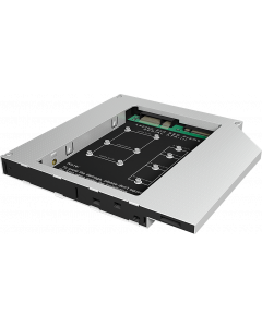 ICY BOX IB-AC650 - ADAPTER MSATA OR M.2 SSD IN DVD TRAY 12.5
