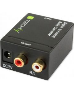 TECHLY DIGITAL/ANALOGIC CONVERTER SPDIF