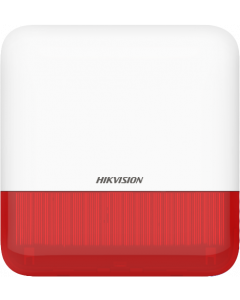 HIKVISION WIRELESS EXTERNAL SOUNDER (RED INDICATOR)