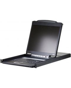"ATEN CONSOLE 8-PORT 19"" LCD KVM SWITCH, PS/2-USB"