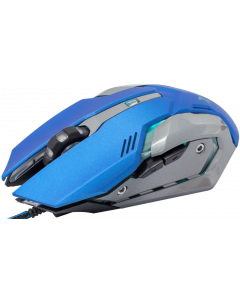 WHITE SHARK MOUSE GM-1604 CAESAR BLUE / 4800 DPI