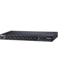ATEN 8 PORT ECO PDU 1U, 7xC13, 1xC19, 16Amp, PORT MEASUREMEN