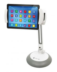 TECHLY TABLE / DESK STAND FOR SMARTPHONE AND TABLET UP TO 10""
