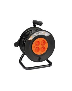 CABLE REEL 25M - 3G1.5 - 4 SOCKETS