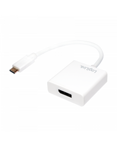 LOGILINK USB ADAPTER, USB 3.2 GEN 1X1, USB-C TO DISPLAYPORT,