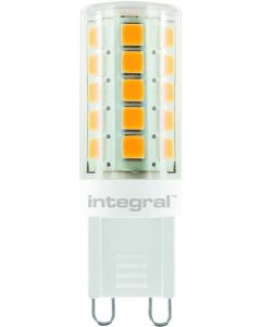 G9 LED SPOT WHITE HOUSING DIMMABLE 3W(28W) 2700K