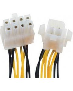 POWER CABLE 8 PIN FEMALE TO 4 PIN MALE - 10CM