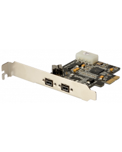 FIREWIRE PCI EXPRESS CARD - 2x1394B EXTERNAL & 1x1394B INTERNAL