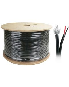 COAX RG-59 + POWER HYBRID CABLE - 75 OHM - 200M