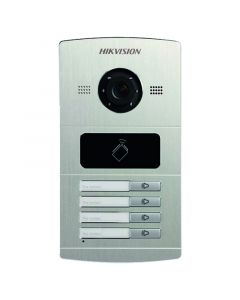 HIKVISION 1.3MP DOOR STATION ALU 4CHANNEL OUTDOOR STATION