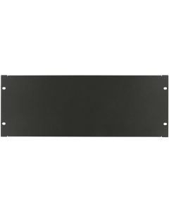 "LOGON 4U 19"" SCREW TYPE BLANK PANEL BLACK"
