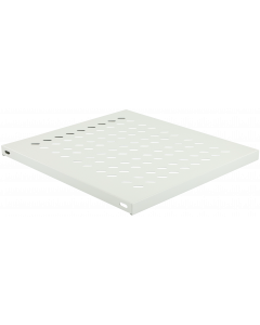 LOGON TRAY FOR CABINETS D=800 FIXED SHELF WHITE
