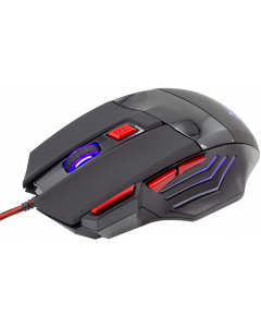 WHITE SHARK MOUSE GM-1606 MARCUS BLACK / 4800 DPI