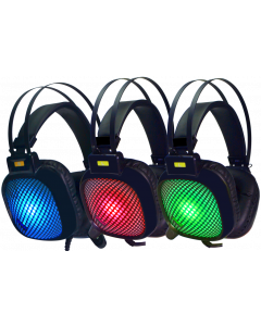 GAMMEC STEALTH 5.1 GAMING HEADSET WITH RGB LIGHTING