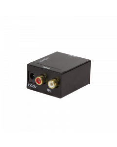 LOGILINK AUDIO CONVERTER, ANALOG TO DIGITAL SPDIF/COAX