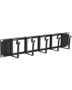 """LOGON 2U 19"""" CABLE ORGANIZER PANEL WITH CABLE ENTRY HOLE"""
