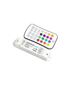 INTEGRAL RECEIVER WITH REMOTE BUTTON RGB - 12-24V