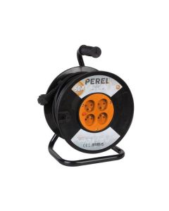 CABLE REEL 50M - 3G1.5 - 4 SOCKETS