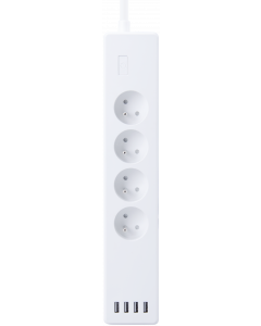WOOX WIFI SMART POWERSTRIP 4 WAY WITH 4 USB PORTS