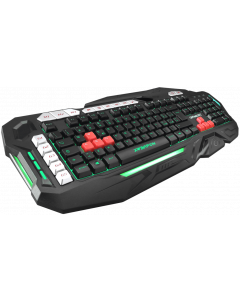 GAMMEC BACKLIGHT GAMING KEYBOARD WITH 8 MACRO KEYS