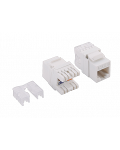 CAT6 KEYSTONE JACK UNSHIELDED - LSA/IDC PUNCH DOWN
