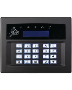 PYRONIX PLASTIC CASING FOR KEYPAD - BLACK