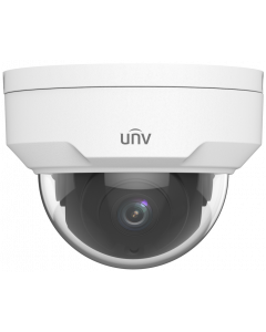 UNIVIEW 2 MEGAPIXEL 2.8MM LENS OUTDOOR DOME IP CAMERA
