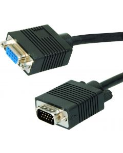VGA EXTENSION CABLE MALE TO FEMALE - 30M