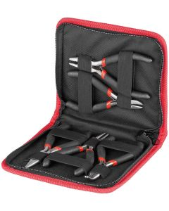 PLIER-SET 5 PCS. WITH INSULATED GRIP
