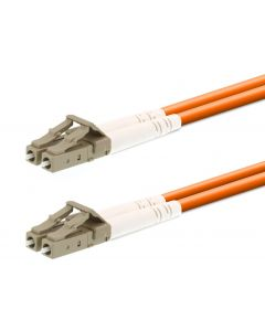 LOGON FIBER PATCH CABLE 50/125 - LC/LC 0,5M - OM2