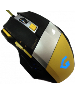 GAMMEC GM3 GAMING MOUSE WITH 7 BUTTONS YELLOW