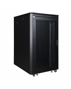 LOGON 26U W=800mm D=1000mm H=1342mm SERVER LINE BLACK