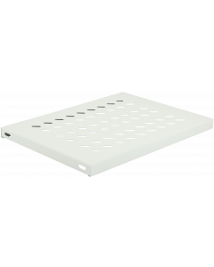 LOGON TRAY FOR CABINETS D=600 FIXED SHELF WHITE