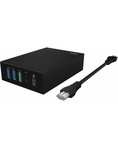 ICY BOX NOTEBOOK & USB FAST CHARGER WITH QC 2.0 IB-CH504-QN