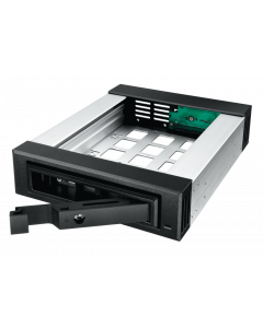"ICY BOX IB-129SSK-B - MOBILE RACK FOR 3.5""& 2.5"" SATA/SAS HD"