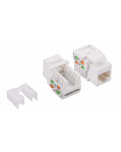 CAT5e KEYSTONE JACK UNSHIELDED - LSA/IDC PUNCH DOWN