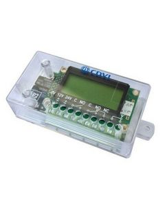 CDVI 2 RELAYS RECEIVER WITH LCD DISPLAY