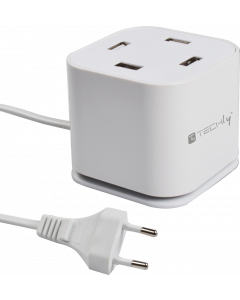 TECHLY 4x USB/A CHARGING STATION 48 WATT 9.6A