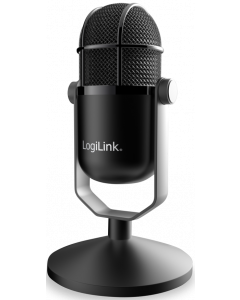 LOGILINK USB MICROPHONE IN HIGH DEFINITION STUDIO GRADE